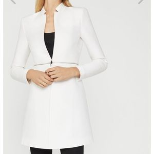 Zara white coat style